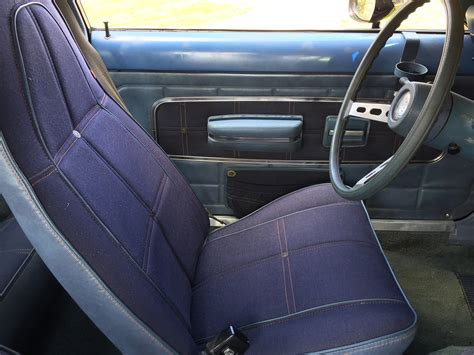 Car Upholstery Fabric File 1974 Amc Gremlin With Levi S Option At 2015 Amo Show