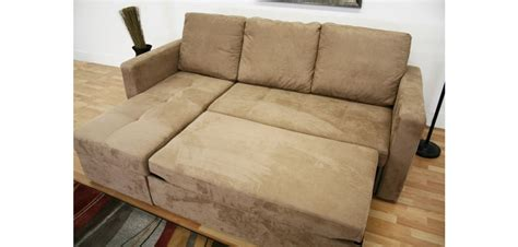 contemporary microfiber sectional sofa linden contemporary tan microfiber sofa bed sectional