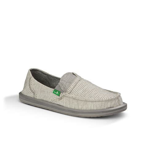 sanuk pocket s slip on canvas shoes ebay