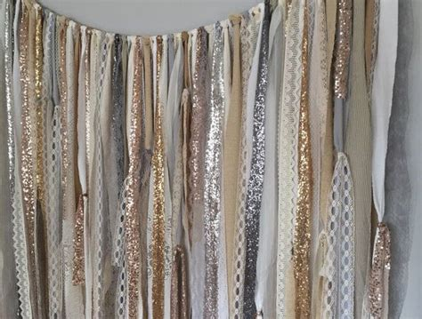 silver sequin l shade silver curtain backdrop decorate the house with