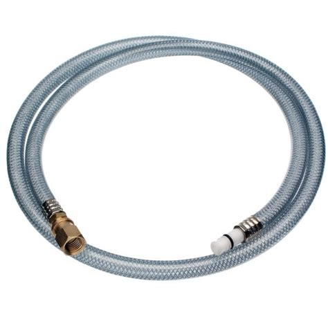 Kitchen Sink Faucet Hose by Danco 80761 Sink Spray Hose Clear Reviews On Faucet Spray Hoses Faucet Parts Plumbing