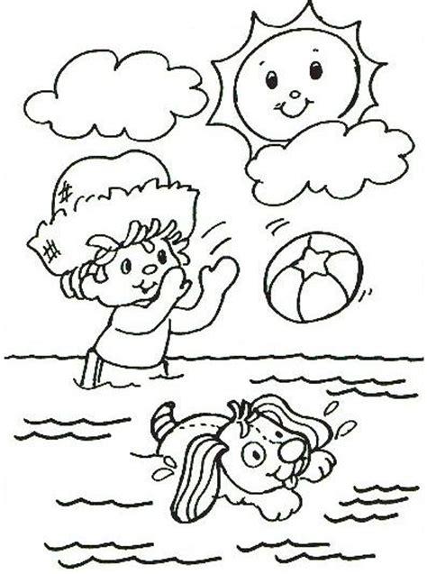 dibujos infantiles para colorear del verano 161 qu 233 rica est 225 el agua dibujalia dibujos para