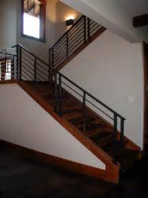 decorating inviting modern stair railings styles