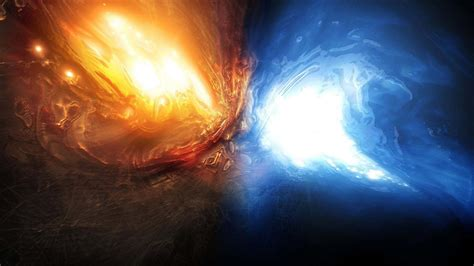 abstract earth wallpaper red and blue fire wallpaper wallpapersafari