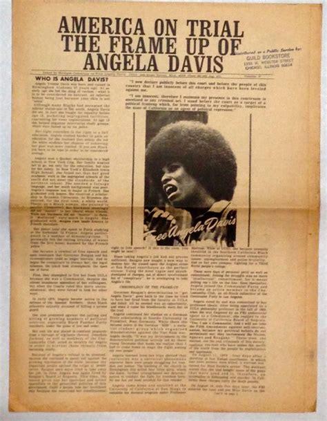 Davis By Ruthie Davis Frame T by America On Trial The Frame Up Of Angela Davis By Black