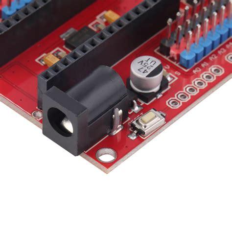 Arduino Nano Io Expansion Shield Board for arduino nano v3 0 prototype shield i o extension board