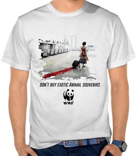 Kaos World Traveler 5 jual kaos don t buy animal souvenirs organisasi
