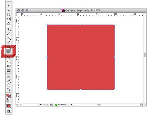 indesign rectangle frame tool create a logo quickly in indesign of all things dekeonline