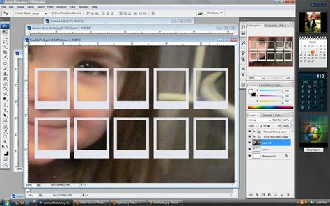 tutorial photoshop frame 13 best images about polaroid on pinterest