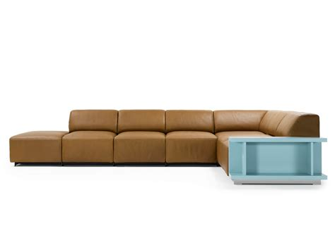 long sectional long island sofa by kai stania for durlet sohomod blog