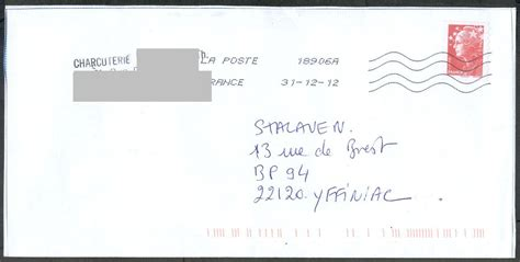 Exemple De Lettre Postale Lettre Postale Lettre De Motivation 2017