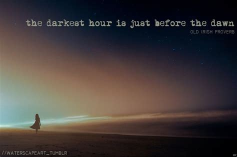 darkest hour before dawn hope quotes sayings images page 4