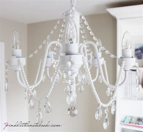 Chandeliers Diy The Chandelier Saga Diy Before And After Pictures Pink Notebookpink Notebook