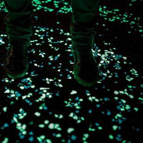 glow in the dark rocks glow in the dark stones green decor garden outdoor pebble