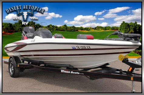 used bass fishing boats for sale on ebay 2015 triton 18 xs bass fishing boat extra clean ebay