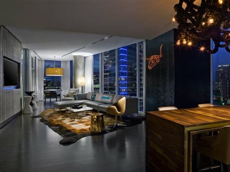 Dallas Hotels With In Room by W Dallas Victory Hotel Wow Suite Clubhouse