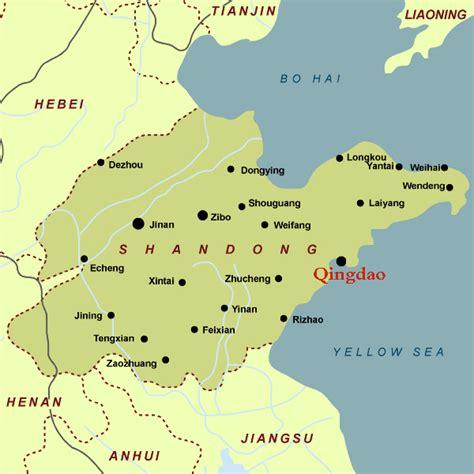 map of qingdao qingdao map qingdao china map qingdao city map