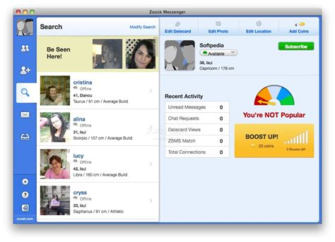 How To Search On Zoosk Zoosk Messenger Mac