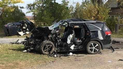 Actor Garrisons Suv Wrecks 1 Dead by One Person Dead Two Others In Hospital After On