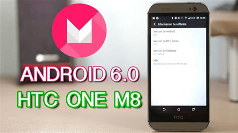android  marshmallow  htc   review en espanol youtube