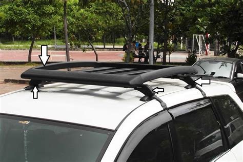 Cross Bar Model Jepit Roof Rail Mobil Toyota All New Avanza 2013 jual paket plastik universal rack roof rack rak bagasi dan cross bar kaki rak roof rack