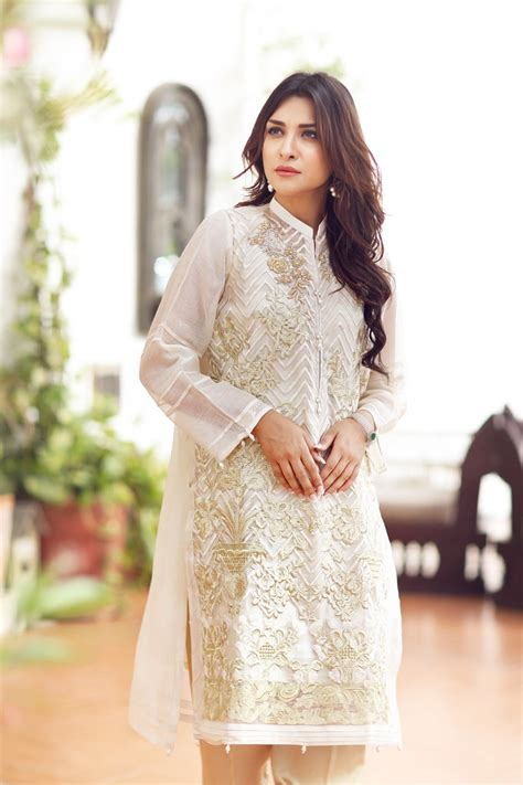 Famous Pakistani Brands Eid Dresses collection 2017 for Girls   stylo street
