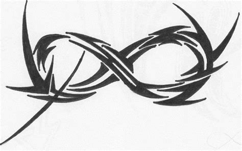 tribal infinity symbol tattoo 11 awesome tribal infinity tattoos only tribal
