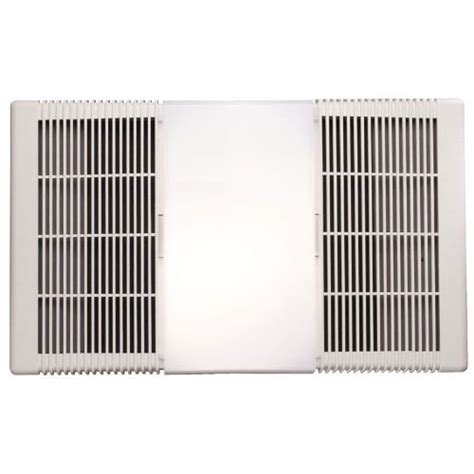 nutone can light exhaust fan nutone 665rp 70 cfm bathroom exhaust fan with heater and