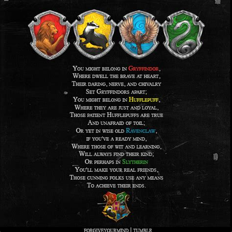 sorting hat hogwarts houses photo  fanpop
