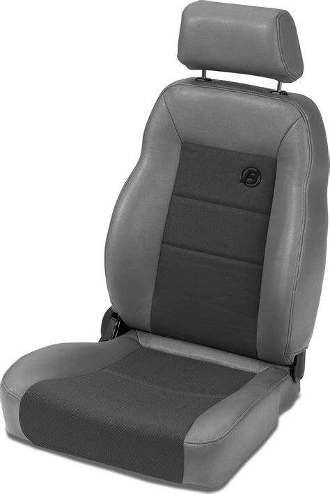 bestop jeep tj seats bestop trailmax ii pro front driver seat in fabric for 76