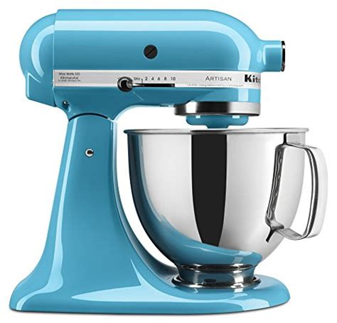 amazon kitchenaid kitchenaid ksm150pscl artisan series 5 qt stand mixer