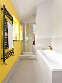 Turquoise yellow bathroom home design ideas pictures