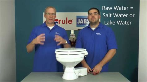 winterizing a boat toilet jabsco winterizing a raw water quiet flush or deluxe