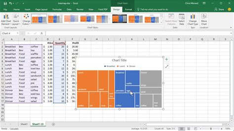 create tree map create a treemap in excel 2016 by chris menard