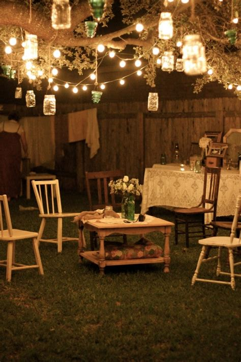 backyard lighting for a party low budget garden party decorations hacked by zarox ztayli