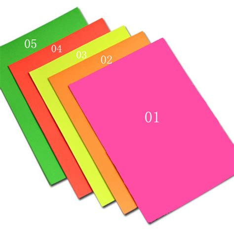 colored labels 25 sheets practical a4 fluorescent pink colored labels