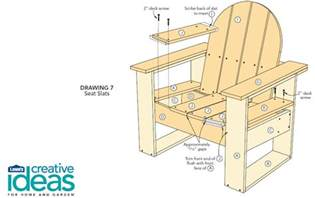 free plans for an easy adirondack chair woodwork city free woodworking plans