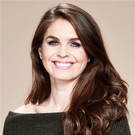 hope hicks voice hope hicks
