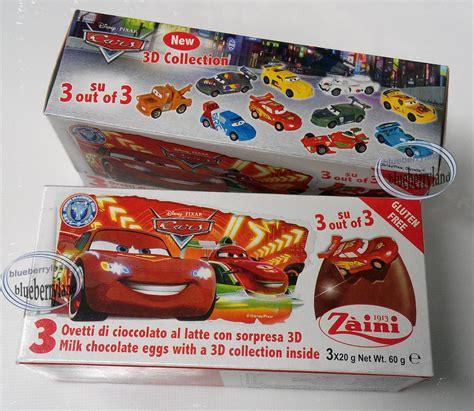Zaini Chocolate Egg Sofia zaini disney cars neon chocolate 3 eggs with figure inside