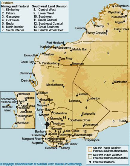 map of western australia with cities and towns map of western australia with towns my