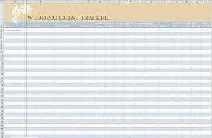 Template For Guest List 7 Free Guest List Templates Excel Pdf Formats