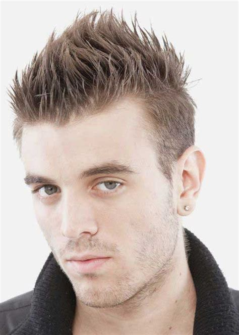 hairstyles for boys spikes 25 spiky haircuts for guys mens hairstyles 2018