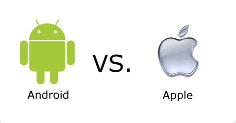 apple android ios vs android development
