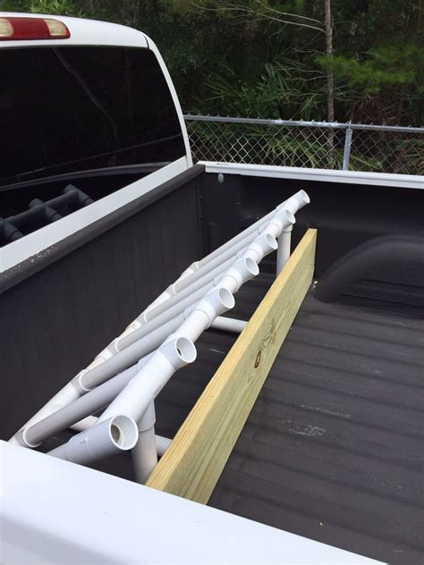 Pvc Rod pvc pipe fishing rod holder just built this to hold my