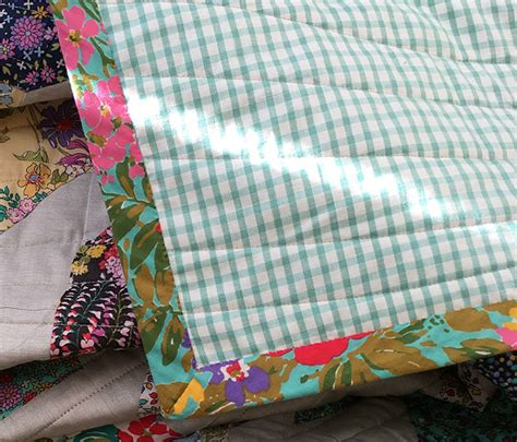 How Wide To Cut Quilt Binding by How To Make A Perfectly Flat Wide Binding Quilting Digest