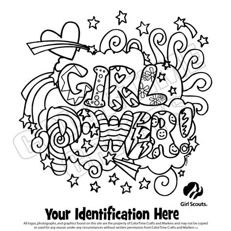 Brownie Girl Scout Coloring Pages Girl Scout Logo Scout Coloring Pages For Daisies Printable