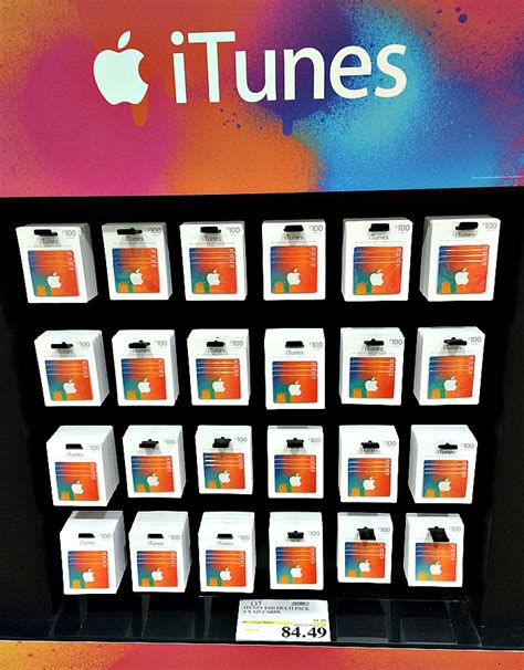 Itunes 100 Gift Card Multipack 4 25 - costco gift card discount 2017 2018 best cars reviews