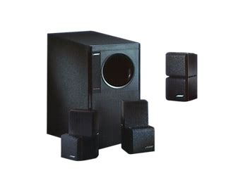 acoustimass  home theater speakers bose product support