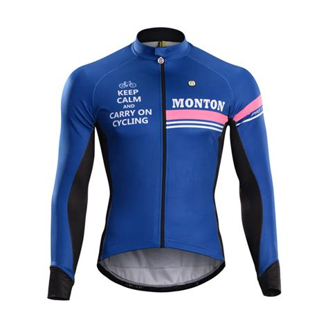 cycling jacket sale monton s winter cycling jacket blue thermal cycling