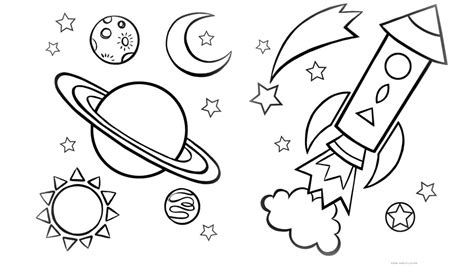 printable space coloring pages coloringstar